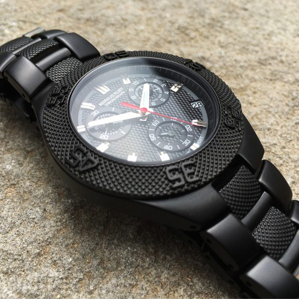 Markus Ruby Chronograph Black Steel -33