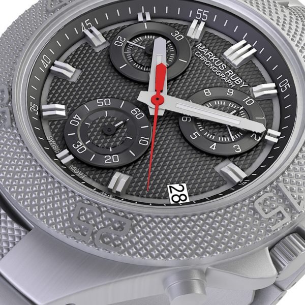 Markus Ruby Chronograph All Steel -31