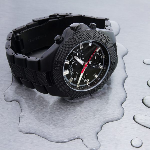 Markus Ruby Chronograph Black Steel -292