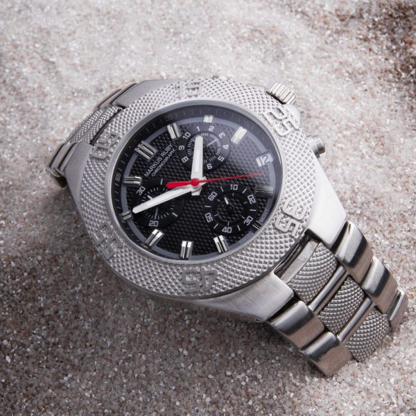 Markus Ruby Chronograph All Steel -295