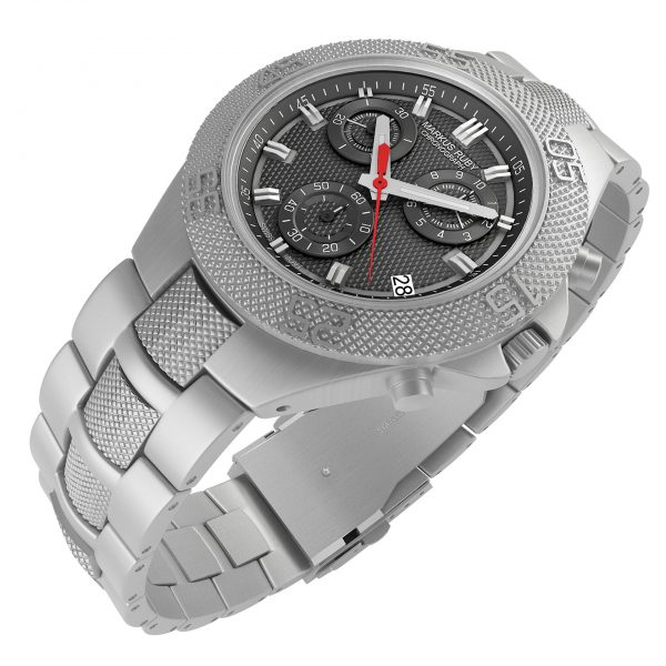 Markus Ruby Chronograph All Steel -109