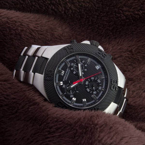 Markus Ruby Chronograph Two Tone Steel -293