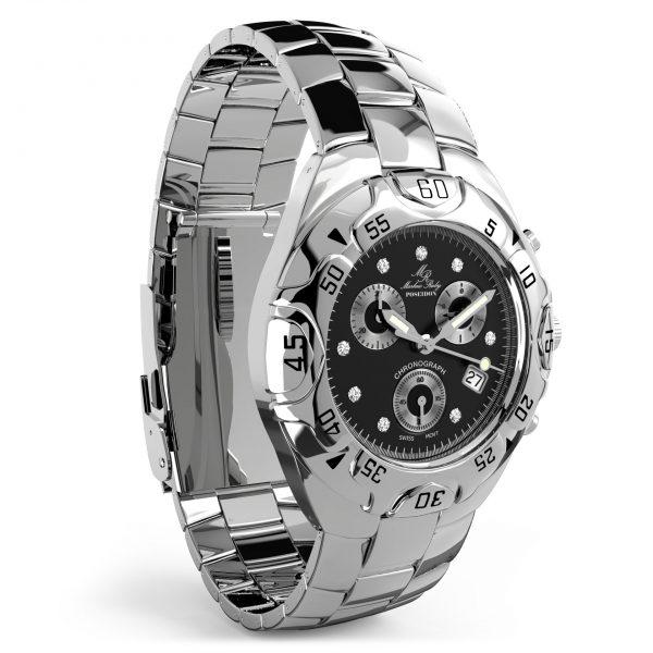 Poseidon Platinum Chronograph Black Dial-193